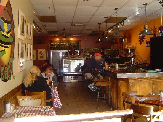 Toast Coffeehouse Inside