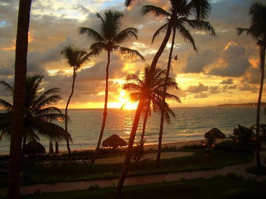VIK Hotel Cayena Beach: herrliche Sonnenuntergänge