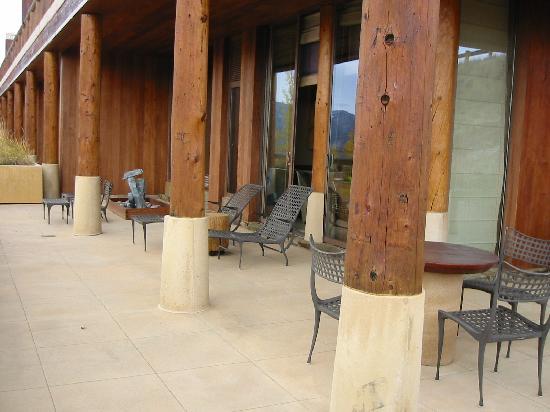 Amangani: our terrace