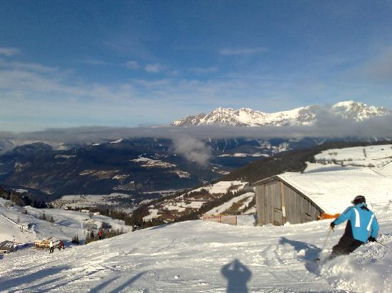 Hotel Gaensleit: lovely ski conditions