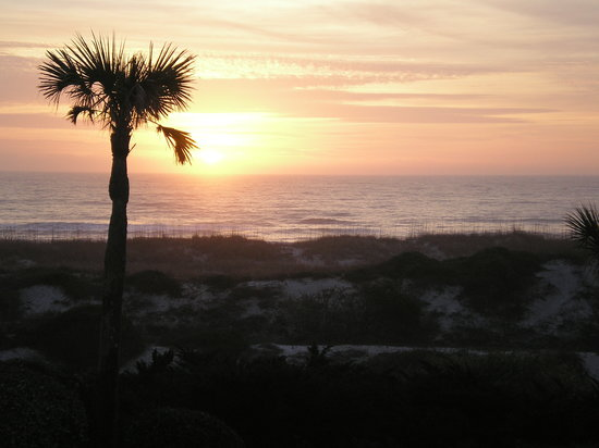The Ritz-Carlton, Amelia Island: sunrise