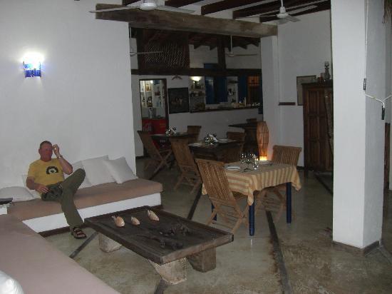 Posada La Cigala: The Lounge Area