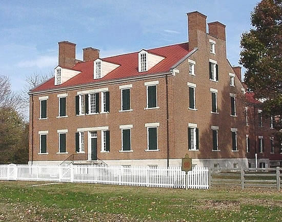 South Union, KY: The Centre Family Dwelling House