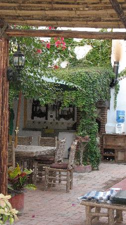 Baja Bed and Breakfast: Courtyard Baja B & B