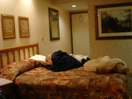 Tahoe Beach and Ski Club: queen bed