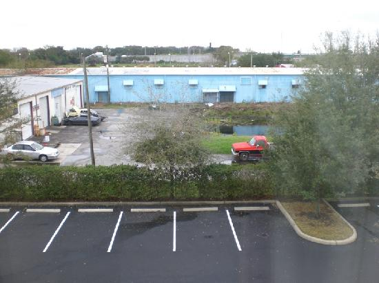 Hampton Inn Tampa-Veterans Expwy (Airport North): Room with a view