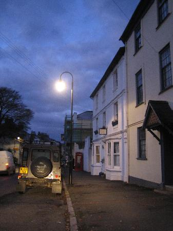 Roborough House: Dusk view, exterior