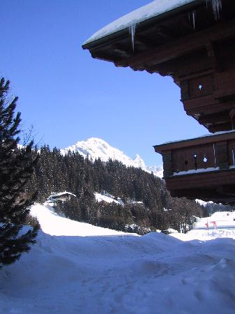 Pension Wieser: View from outside hotel