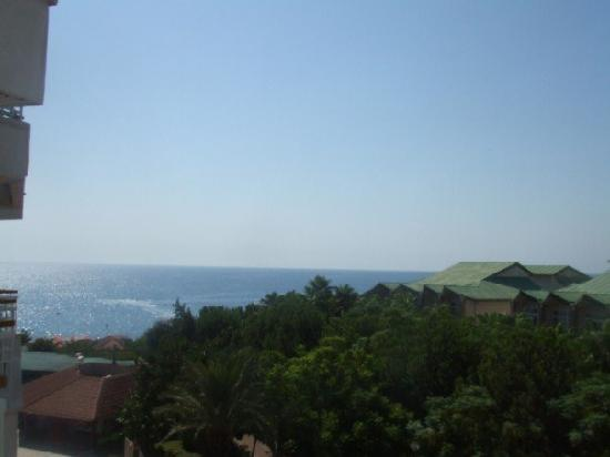 Akka Alinda Hotel: View from our room