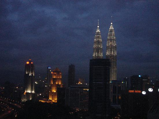 Sheraton Imperial Kuala Lumpur Hotel: View from the room