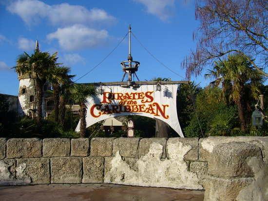 Parque Disneylandia: Pirates of the caribbean
