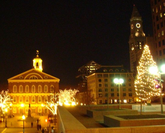 Faneuil Hall Historic Site: Holiday Faneuil Hall