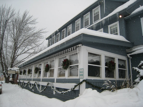 The Wildcat Inn and Tavern - this is the dining room/hotel side of the building.