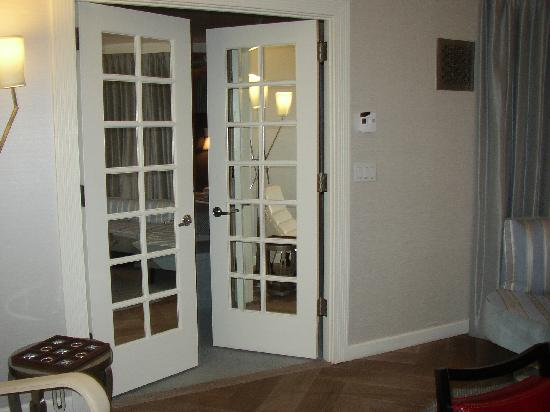 mirrored french doors to bedroom - Picture of The London NYC, New ...