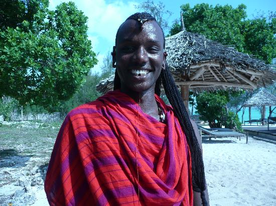 Pongwe Beach Hotel: Lucna Massi warrior