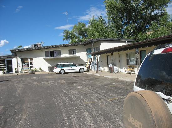 Golden Hills Motel : Basic stuff but clean