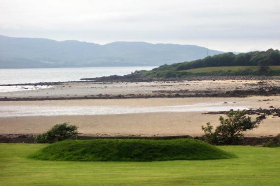 buncrana beach near castle bridge