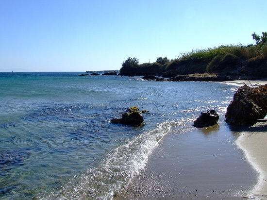 Парос, Греция: Boutari beach in Drios
