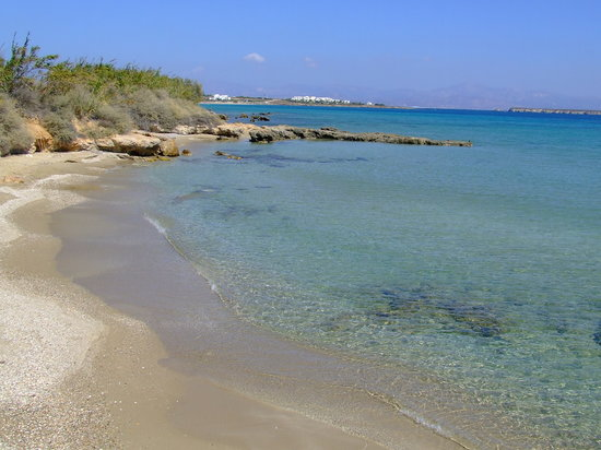 Paros, Hellas: Boutaraki Beach in Drios