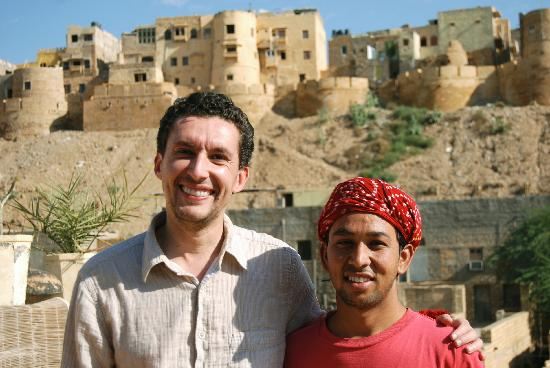 Hotel Star Haveli : Mike with a friend