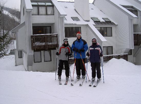 Sunrise Village Condominiums: ski on and ski off!