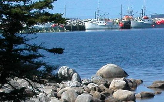 Cape Sable Island, Canada: harbour Whark from the walkway
