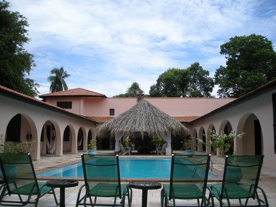 Miranda, MS: Caiman Sede e piscina
