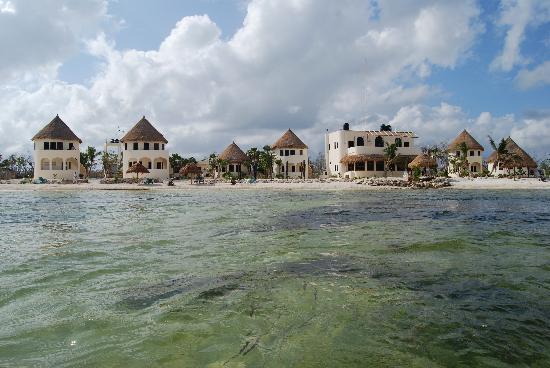 Balamku Inn on the Beach: From the water