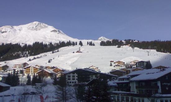 Pfefferkorn's Hotel: view from balcony