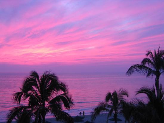 Villa La Estancia: Awesome Sunset