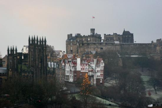 The Balmoral Hotel: View from our window