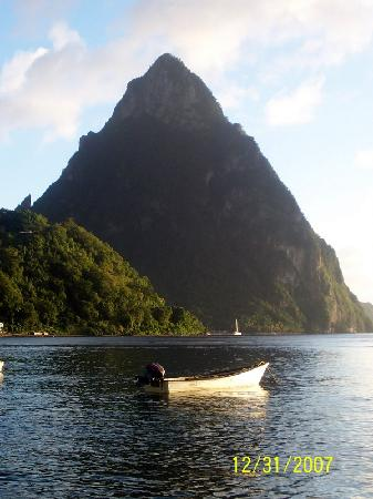 Crystals: Piton View in Soufriere