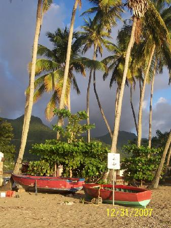 Crystals: Beach in Soufriere