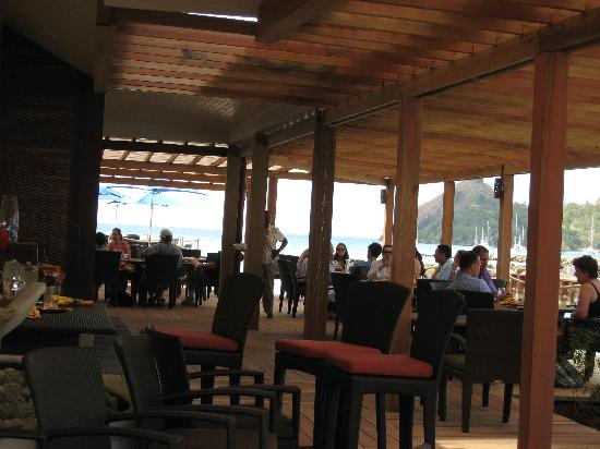 The Landings St. Lucia: Outdoor Dining