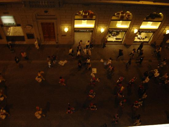 Residenza Giotto: nightlife in Florence, marching parades!