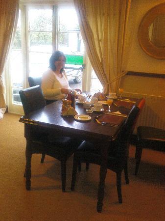 The White Lion Inn: Breakfast/Dining Room