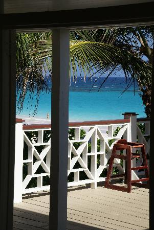 كورال ساندز هوتل: vue depuis le restaurant de la plage
