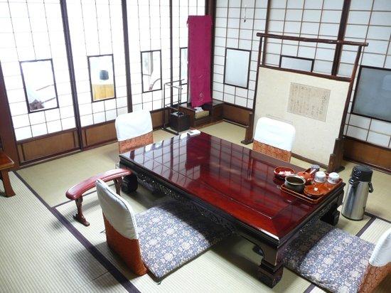 Sumiyoshi Ryokan: Our dining room