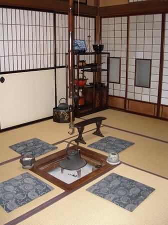 Sumiyoshi Ryokan: Traditional hearth room