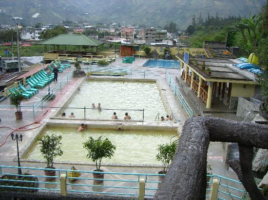 Sangay Spa Hotel: El Banos
