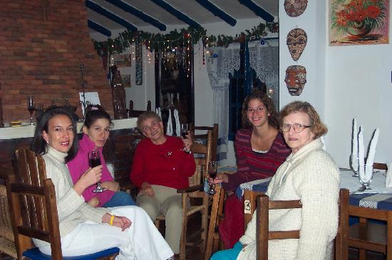 Posada Parador de Los Pinos: Christmas 2004 at the restaurant