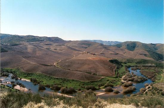 Vila Nova de Foz Coa, Португалия: Scenic view, Douro International Protected Area, Portugal
