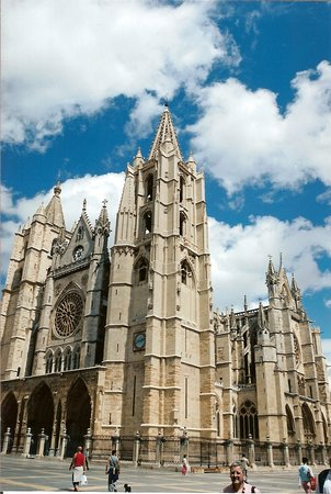 Leon, Spanien: León Cathedral, Spain