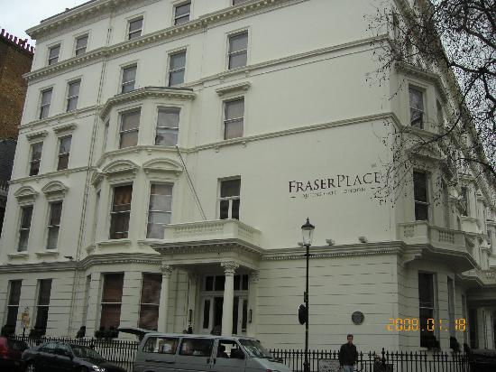 Fraser Suites Queens Gate: View from the street