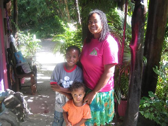 Crystals: Arlette and her sweet kiddos