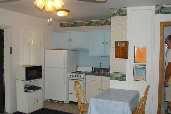 Beach Croft Motel: View of Kitchenette
