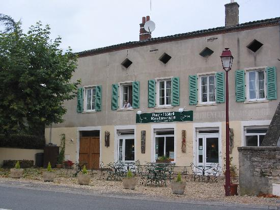 Le Chardon, viewed from the car park.