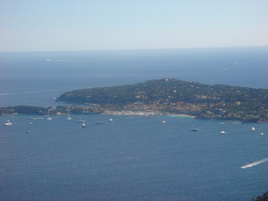 Èze, Frankrig: View from Eze
