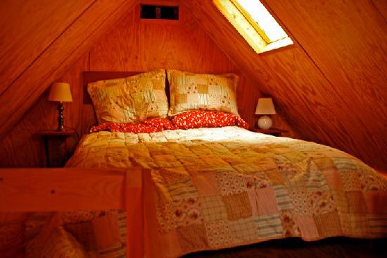 Bed Bike Inn Small Cabin Bedroom