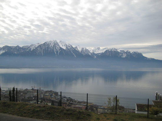 Cenevre, İsviçre: Lake Geneva & The Alps I